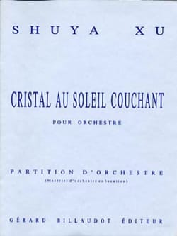 Cristal au soleil couchant - Partition - Shuya Xu - laflutedepan.com