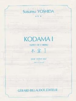 Susumu Yoshida - Kodama 1 – Violon - Partition - di-arezzo.fr