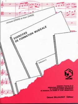 Zardé Alain / Erard Jacques - Exercices de FM – Débutant 2 - Partition - di-arezzo.fr