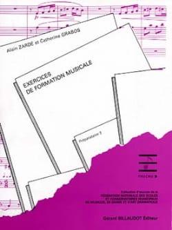 Alain Zarde - FM exercises - Preparatory 2 - Sheet Music - di-arezzo.co.uk