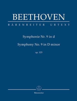 BEETHOVEN - Symphony No. 9 in D Minor - Conductor - Sheet Music - di-arezzo.co.uk