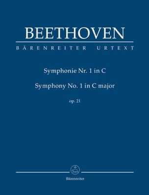 BEETHOVEN - Symphonie Nr. 1 en Do Majeur Op. 21 - Conducteur - Partition - di-arezzo.ch