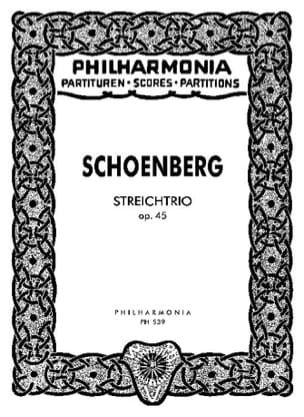 Arnold Schoenberg - Streichtrio op. 45 - Partitur - Sheet Music - di-arezzo.co.uk