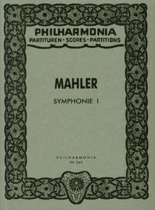 Gustav Mahler - Symphony Nr. 1 D-Dur - Partitur - Sheet Music - di-arezzo.co.uk