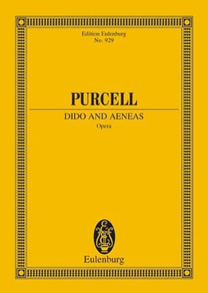Dido and Aeneas Henry Purcell Partition Petit format - laflutedepan