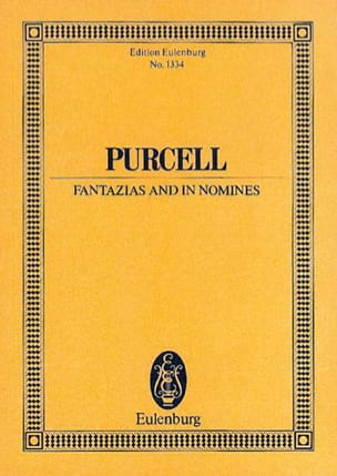 Fantazias and In Nomines Henry Purcell Partition laflutedepan