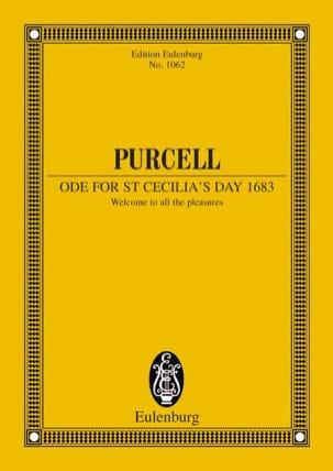 Henry Purcell - Ode zum Cäcilia-Tag 1683 - Partition - di-arezzo.com