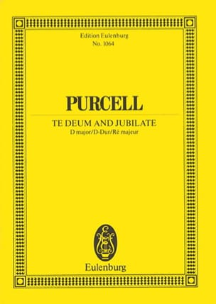 Te Deum and Jubilate Henry Purcell Partition laflutedepan