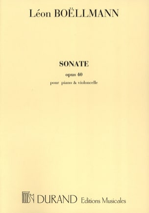 Léon Boëllmann - Sonata op. 40 - Sheet Music - di-arezzo.co.uk