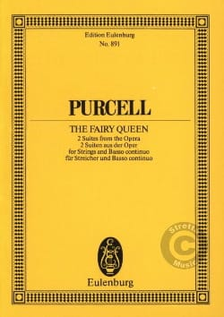 The Fairy Queen, Suites Henry Purcell Partition laflutedepan