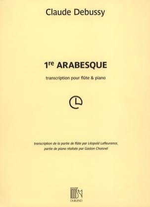 DEBUSSY - Arabesque n° 1 - Partition - di-arezzo.fr
