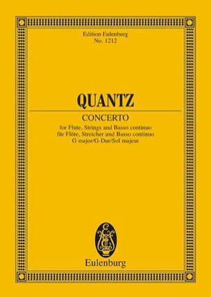 Flöten-Konzert G-Dur - Conducteur - laflutedepan.com