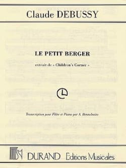 DEBUSSY - The little shepherd - Flute and piano - Partition - di-arezzo.co.uk
