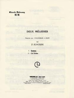 DEBUSSY - Cello / Piano Romance - Sheet Music - di-arezzo.co.uk