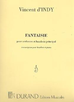 Fantaisie Opus 31 - Indy Vincent D' - Partition - laflutedepan.com