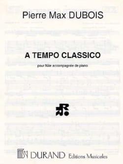 Pierre-Max Dubois - A Tempo classico - Partition - di-arezzo.fr