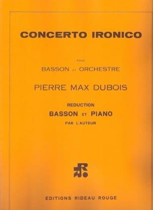 Concerto Ironico - Basson et Piano Pierre-Max Dubois laflutedepan