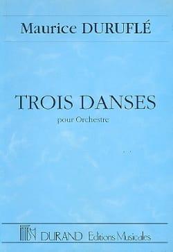 Maurice Duruflé - Three dances for orchestra - Conductor - Sheet Music - di-arezzo.com