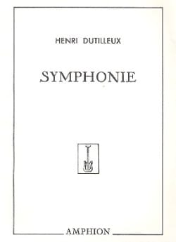 Henri Dutilleux - Symphony No. 1 - Sheet Music - di-arezzo.co.uk