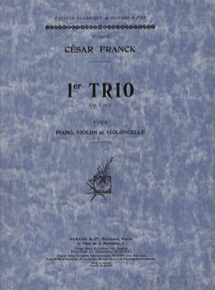 César Franck - Trio op. 1 n° 1 -Parties - Partition - di-arezzo.fr