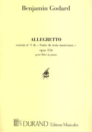 Benjamin Godard - Allegretto - Partitura - di-arezzo.it