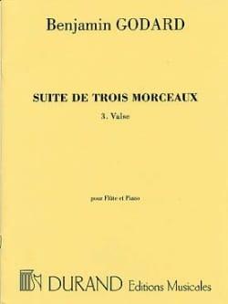 Benjamin Godard - Valse n° 3 de la Suite de trois morceaux - Partition - di-arezzo.fr
