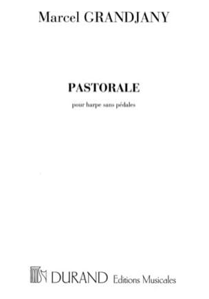 Marcel Grandjany - Pastorale - Partition - di-arezzo.fr