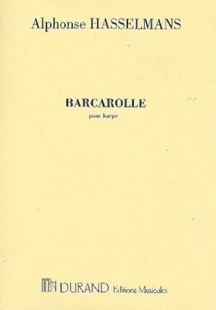 Barcarolle Alphonse Hasselmans Partition Harpe - laflutedepan