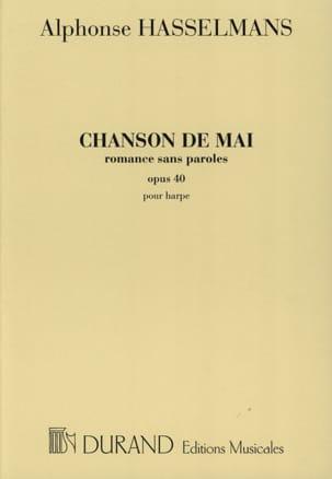 Chanson de Mai Alphonse Hasselmans Partition Harpe - laflutedepan