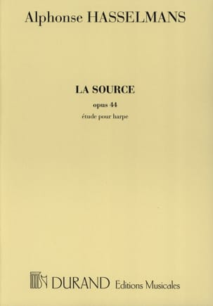 Alphonse Hasselmans - The Source - Harp - Sheet Music - di-arezzo.com