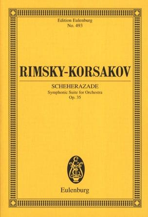 Nicolaï Rimsky-Korsakov - Scheherazade Op. 35 - Conducteur - Partition - di-arezzo.fr