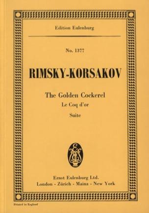 Nicolaï Rimsky-Korsakov - Suite Le coq d'or - Partition - di-arezzo.fr