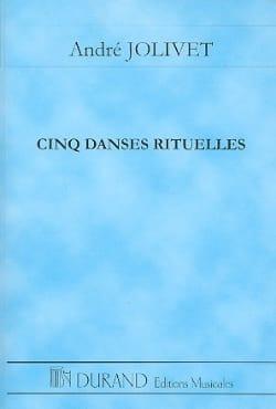 André Jolivet - Cinq danses rituelles - Conducteur - Partition - di-arezzo.fr