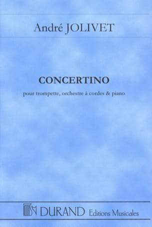 Concertino - Conducteur André Jolivet Partition laflutedepan