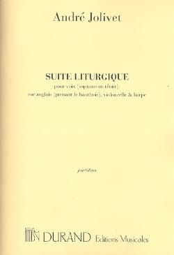 André Jolivet - Liturgical Suite - Score - Sheet Music - di-arezzo.co.uk