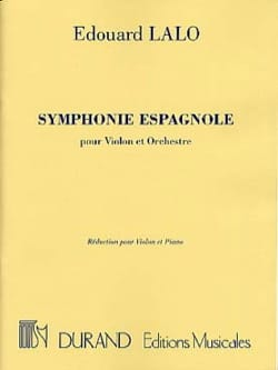 Edouard Lalo - Spanish Symphony op. 21 - Sheet Music - di-arezzo.co.uk