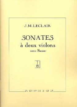 Sonates à 2 violons sans basse op. 12 - laflutedepan.com
