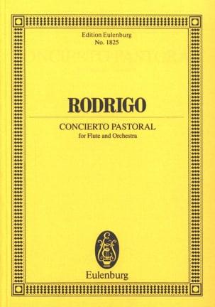 Concierto Pastoral RODRIGO Partition Petit format - laflutedepan