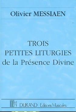 Trois petites liturgies ... - Conducteur MESSIAEN laflutedepan