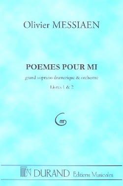 Olivier Messiaen - Poèmes pour Mi –Conducteur - Partition - di-arezzo.fr