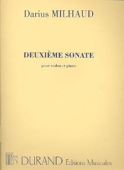 Sonate N° 2 - Violon MILHAUD Partition Violon - laflutedepan