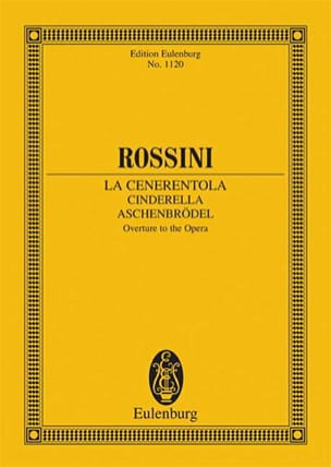 Gioacchino Rossini - The Cenerentola, Opening Cinderella - Driver - Sheet Music - di-arezzo.co.uk