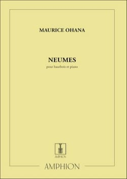 Maurice Ohana - Neumes - Partition - di-arezzo.fr