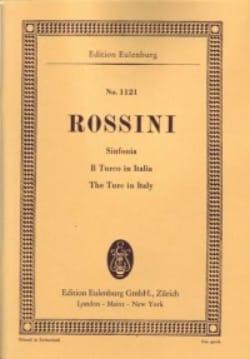 Gioacchino Rossini - Ouverture du Turc en Italie - Partition - di-arezzo.fr