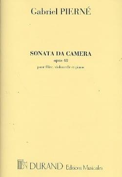 Gabriel Pierné - Sonata da camera op. 48 - Partition - di-arezzo.fr