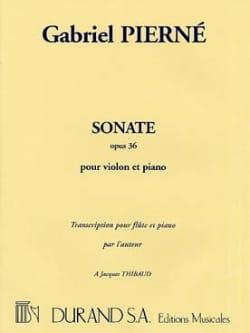 Gabriel Pierné - Sonata op. 36 - Sheet Music - di-arezzo.com