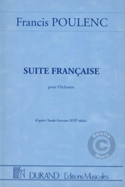 Francis Poulenc - French Suite for Orchestra - Conductor - Sheet Music - di-arezzo.co.uk