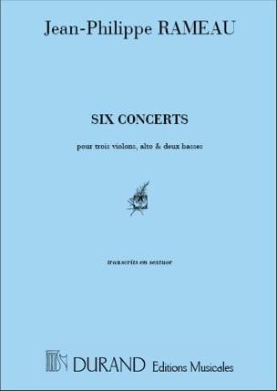 Jean-Philippe Rameau - Seis conciertos - Transcr. en sexteto - Partitura - di-arezzo.es