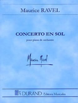 Maurice Ravel - Solo Concerto for piano and orch. - Driver - Sheet Music - di-arezzo.co.uk