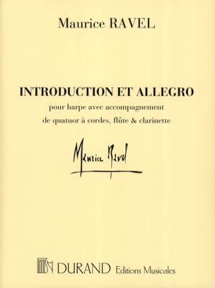 Maurice Ravel - Introduction and Allegro - Parts - Sheet Music - di-arezzo.co.uk